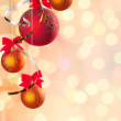 Cristmas festive background — Stock Photo