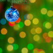 Royalty-Free Stock Photo: Green Cristmas background