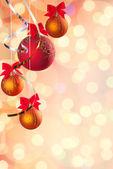 Cristmas festive background — Stock Photo
