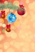 Slavnostní barevné pozadí — Stock fotografie