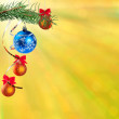 Stock Photo: New Year festive bokeh background