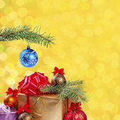 Festive bokeh background-07 — Photo