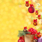 Festive bokeh background-14 — 图库照片