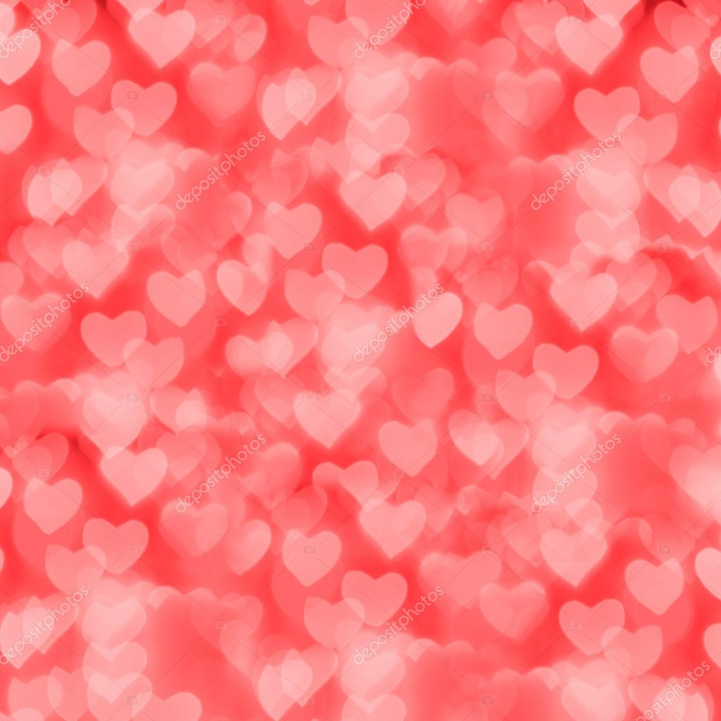 St. Valentine's Day red bokeh background, place for text — Stock Photo #16980441