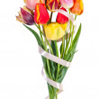 Beautiful bouquet of tulips — Stock Photo #21494003