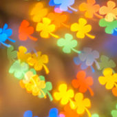 Colorful flower bokeh — Stock Photo