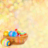 Easter background — 图库照片