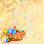 Velikonoční pozadí — Stock fotografie