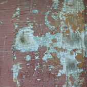 Old paint on a wooden board — Stock Photo