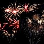 Majestic fireworks — Stock Photo #25824651
