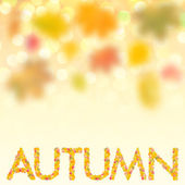 Autumn background for design VII — Stock Photo
