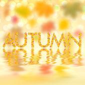 Fondo otoño para diseño vi — Foto de Stock