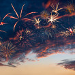 Beautiful fireworks — ストック写真