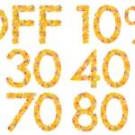 Off percentage — Stock Photo #30610761