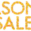 Seasonal sale — Foto de Stock