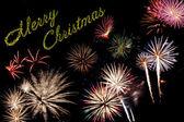 Christmas holiday card — Stock Photo