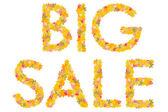 Big sale — Stock Photo
