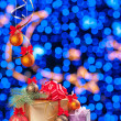 Celebrate bokeh background 004 — 图库照片