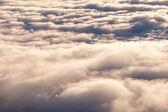 云层上方 — 图库照片