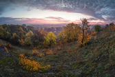 Herbst-Tal — Stockfoto