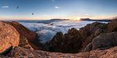 Mountain panorama — Zdjęcie stockowe