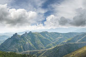 Mountains and clouds — Stock Photo