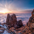 Sunrise over clouds — Stock Photo #47689827
