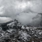 Surrealistic mountain landscape — Stock Photo