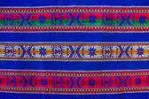 Bolivian pattern — Stock Photo
