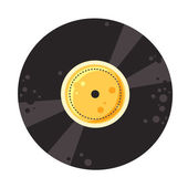 Vector vinyl record — Stock Vector