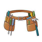 Stock illustration of tool belt — Stock Vector