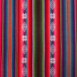 Red bolivian pattern — Stock Photo
