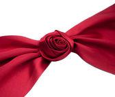 Rose shape ribbon — Stock Photo
