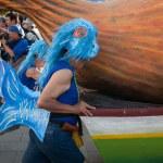 Carnaval scene — Stock Photo