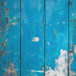 Stock Photo: Weathered wood blue