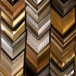 Photo-frame wood sample/photoframe wood — Stock Photo