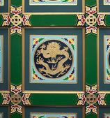 Chinesischer drache und phoenix schönen totem — Stockfoto