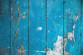 Weathered wood blue — Stock Photo