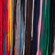 Colored shoelaces — Stock Photo