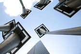 Edifício solar city — Fotografia Stock