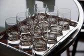 Vattenglas — Stockfoto