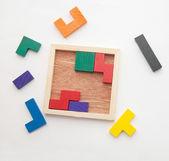 Puzzle board — Стоковое фото