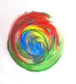 Abstrata aquarela mão pintado o fundo — Foto Stock
