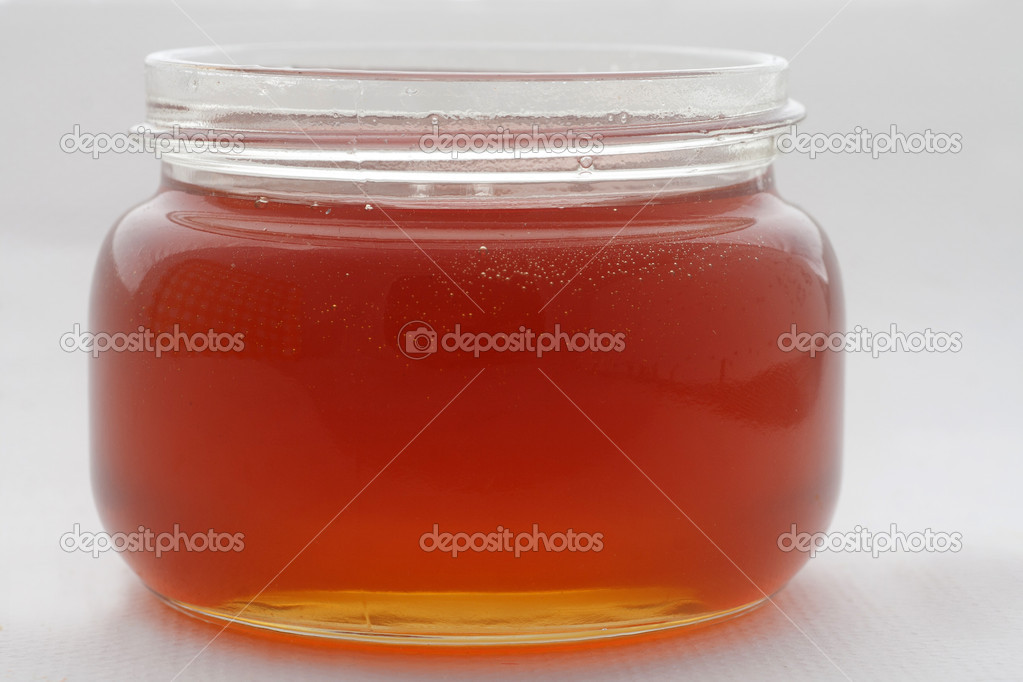 Tea honey/honey — Stock Photo #18228257