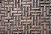 Rusty Corrugated Iron — Stock Photo