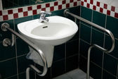 Washbasin for with disabilities — Stock Photo
