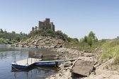 Castle of Almourol — Stock Photo