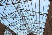 Roof framework — Stock Photo