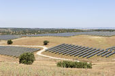 Serpa solar power plant — Stock Photo