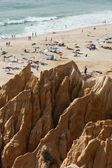 Sandstone cliff — Stock Photo